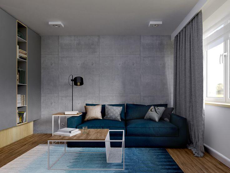 Interior visualizations on Behance
