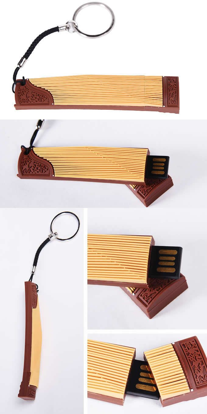 Zither Style Usb Flash Drive