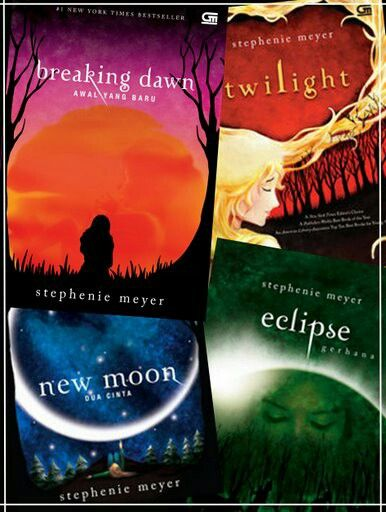 Twilight the Series ✏ Stephenie Meyer