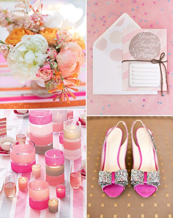 Pastels with a Pop! - Shades of Pink and Orange
