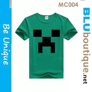 Minecraft T-shirt Toy Pushie * T-shirt * Birthday Goodie Bags with personalised labels * minecraft Key chain * minecraft cup * minecraft bag