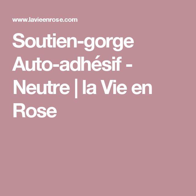 Soutien-gorge Auto-adhésif  - Neutre | la Vie en Rose