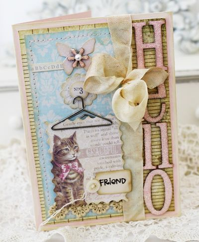 hello cardMelissa Phillips, Hello Kitty Cards Scrapbook, Cardmaking Ideas, Cards Inspiration, Creative Crafty, Inspiration Cards, Paper Crafts, Paperie Things, Cards Journals Tags