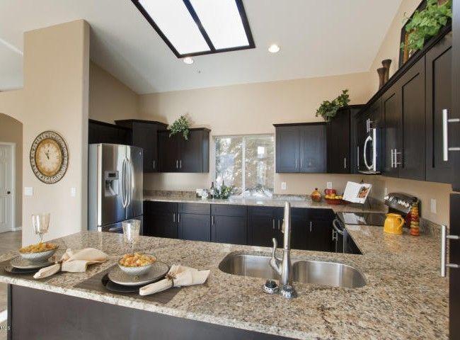 Newly added Scottsdale Venetian Gold Granite Countertops.