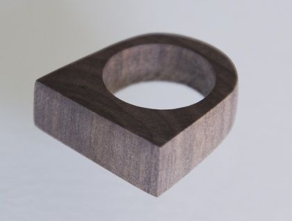 Unique Handmade Driftwood Ring