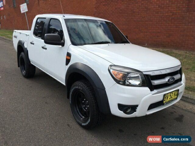 Classic 2009 Ford Ranger Pk Xl 4x4 White Automatic 5sp A Dual