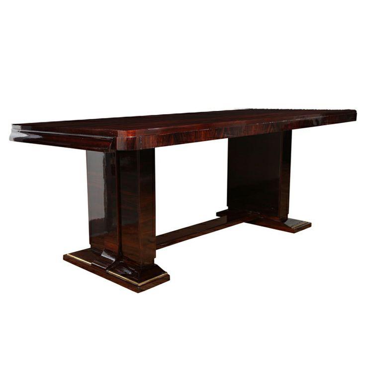 Elegant Art Deco Dining Table