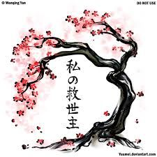 Image result for cherry blossom tree branch sketch