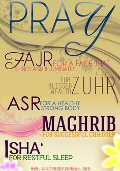 NB! The poster is not from a hadits or any other Islamic source! Thees are just a motivational words that means to remind that every success in life comes trough performing your 5 daily salat.