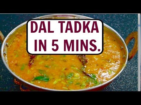 Dal Tadka in 5 mins in Pressure Cooker | Quick & Easy Dal Tadka Mangalorean Style - CurryfortheSoul - YouTube