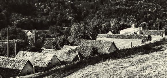 Vine cellars of Villánykövesd