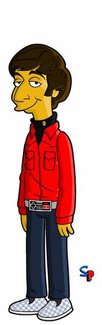 Big Bang Theory characters run as The Simpsons