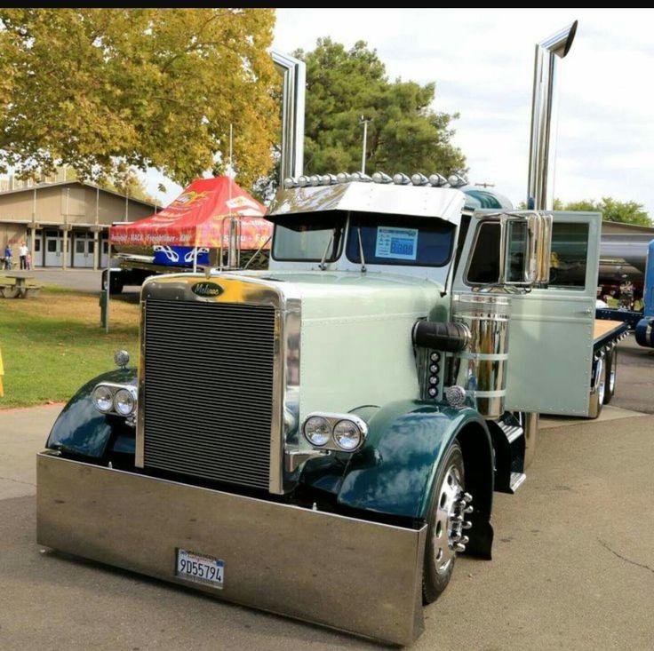 Best Peterbilt Images On Pinterest Peterbilt Big Trucks And
