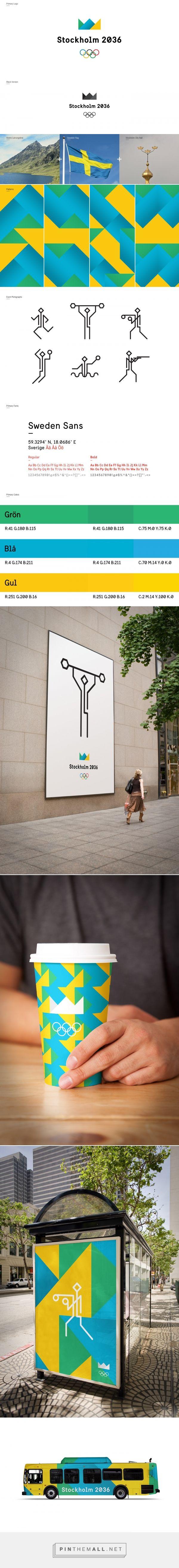 Stockholm Olympics 2036 on Behance - created via http://pinthemall.net