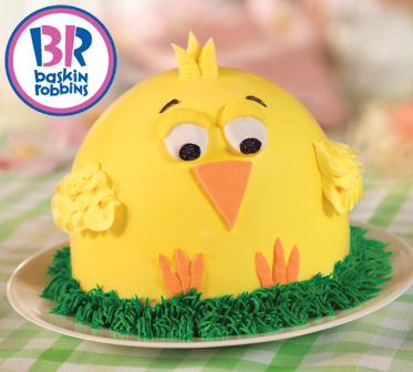 Win a Baskin-Robbins Chick Cake for Easter ~ Planet Weidknecht