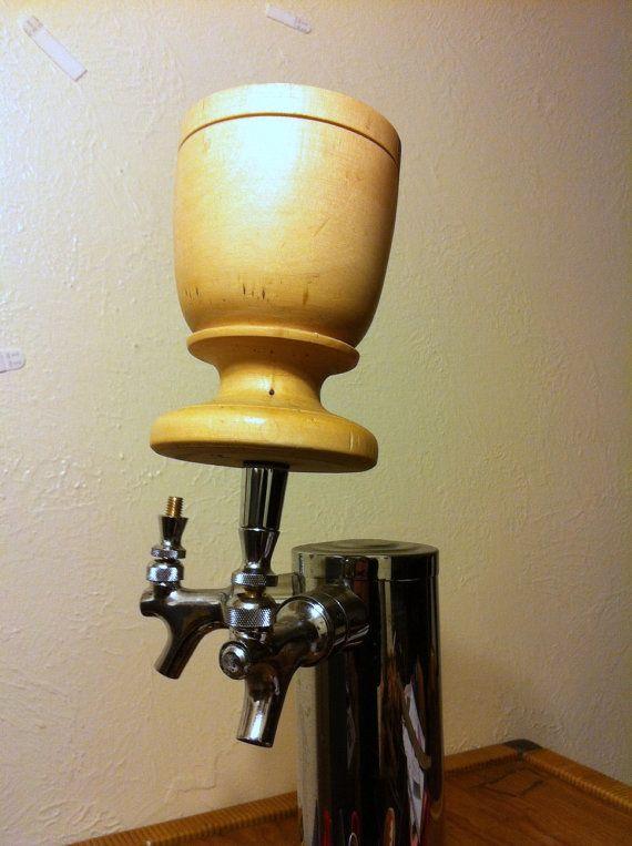 114 best beer handles images on pinterest beer taps handle and knob old cool beer handles beer tap handle repurposed wooden goblet chalice cup grail sciox Gallery