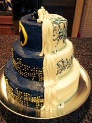 Cat's Cake Creations: Fancy Batman Wedding Cake!