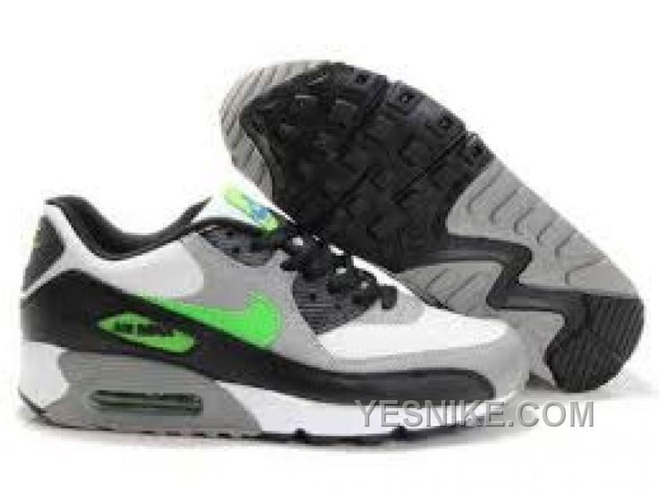 Big Discount  66 OFF Nike Air Max 90 Mens Grey Green Black Black Friday Deals 2016XMS1818
