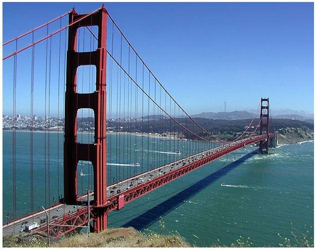 Golden Gate Bridge - San Francisco, Marin County - California