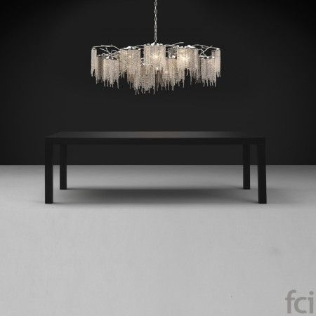 Victoria VOC160N #ChandelierLamp by #BrandVanEgmond. Showroom open 7 days a week.  #fcilondon #furniture_showroom_london #furniture_stores_london #Modern_ChandelierLamp #BrandVanEgmond_furniture #BrandVanEgmond_lighting #SparklingLight