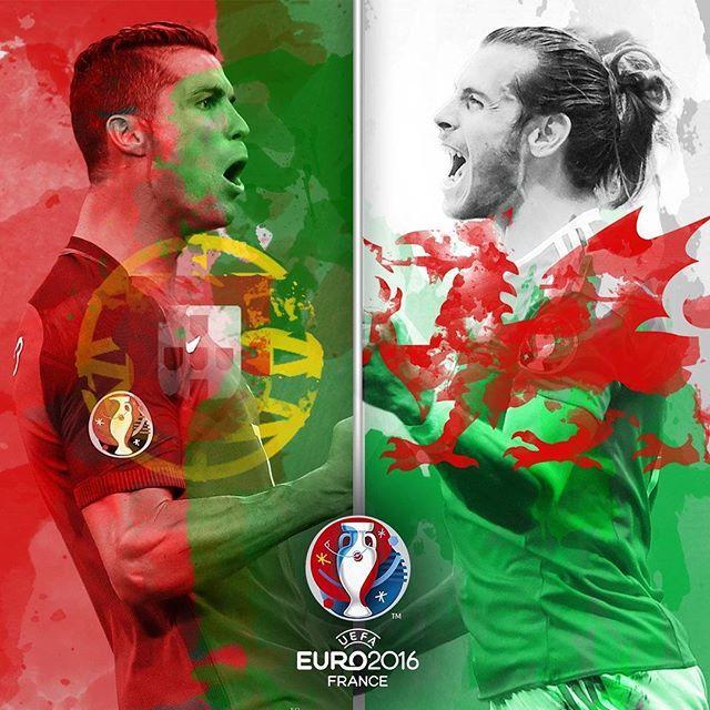 Portugal v Wales. Euro 2016 Portugal 2. Wales 0 7/6/2016
