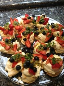 Pavlova in the thermomix