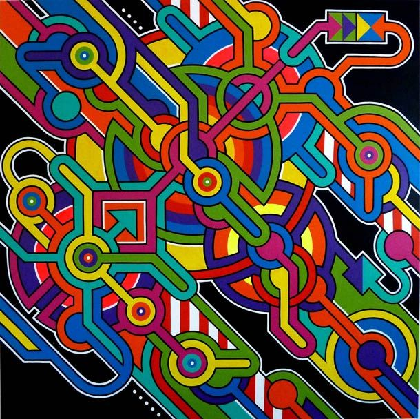 Rayon Gamma – Le Street Art par Seize Happywallmaker | Ufunk.net