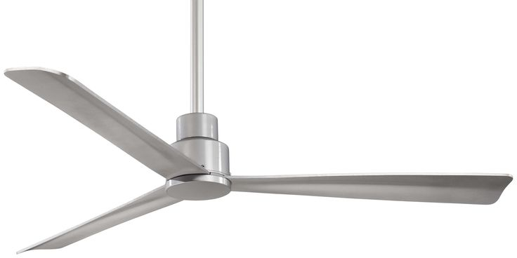 Minka Aire Simple Ceiling Fan F787-SL in Silver - Guaranteed Lowest Price.