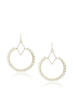 Wendy Mink Wrap Circle Hoop Earrings