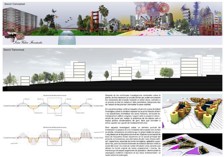 Architecture layout, Master Plan Cerdanyola del Vallès, Barcelona. By Bandada Studio