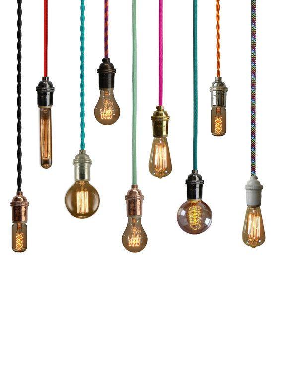 25 best ideas about plug in pendant light on pinterest industrial lighting cage pendant. Black Bedroom Furniture Sets. Home Design Ideas