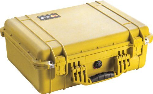 Pelican Camera Case With Foam (Yellow) 1500 -- undefined #BagsCases