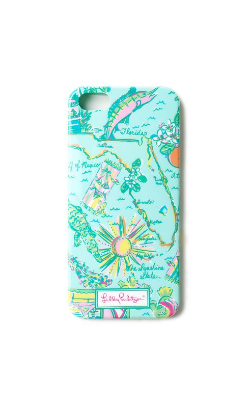 Lilly Pulitzer iPhone 5/5S Cover in Sand Bar Blue Florida