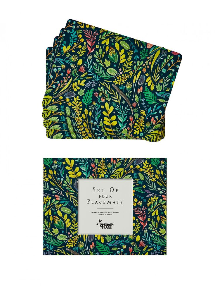 ODETTE NIGHT CORK PLACEMAT SET Mozi - Australian lifestyle and designs