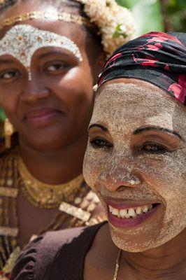 Duo masque - Boueni - Mayotte