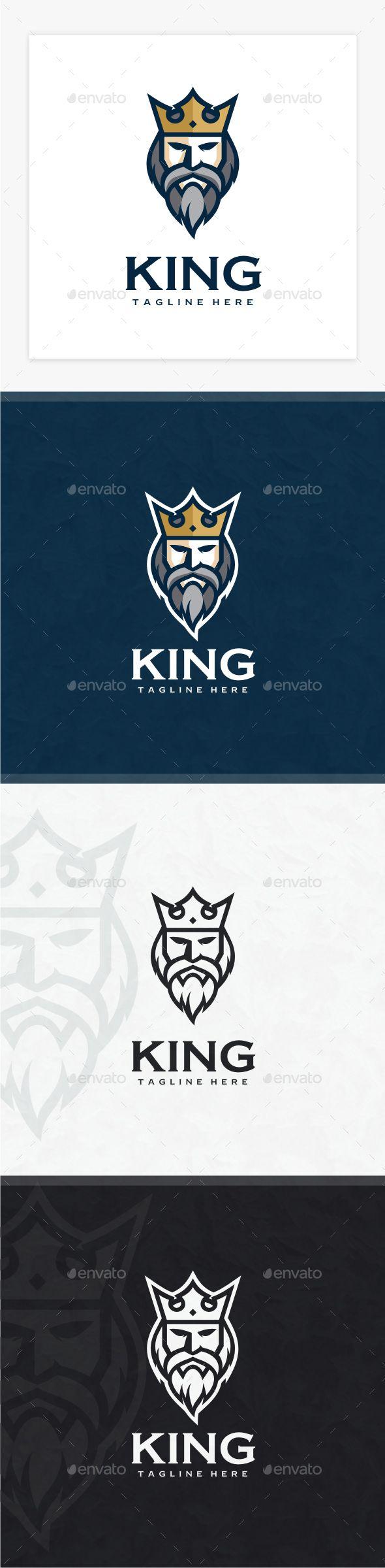 King Logo - Humans Logo Templates Download here : https://graphicriver.net/item/king-logo/19222474?s_rank=80&ref=Al-fatih