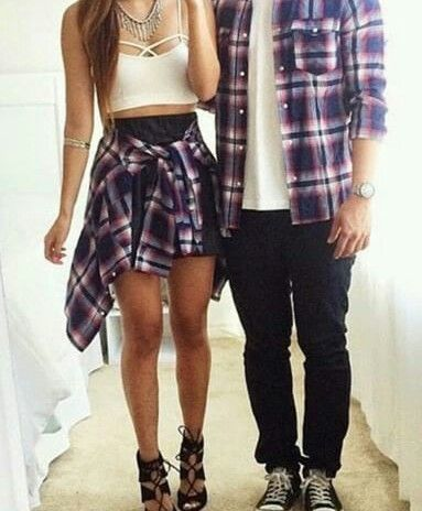 pareja vestidos