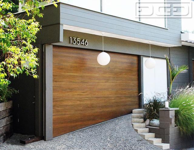 Mid Century Modern Garage Doors Wood Rustzine Home Decor Custom