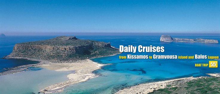 Daily cruises to Gramvousa island & Balos laggon - Chania - Crete - Greece