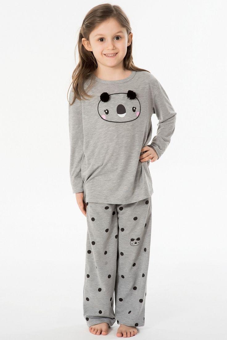 Kom Teddy Çocuk Pijama Takım 62PJ60031 #markhacom #BayanPijama #KızÇocukPijama #OnlineAlışveriş #İndirim #AnneKızKombin #PijamaTakım #Aile #Sonbahar #EvKeyfi #Moda #YeniSezon #EvBotu