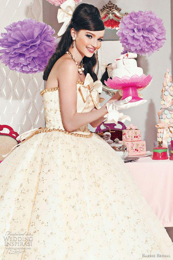 barbie bridal wedding dresses