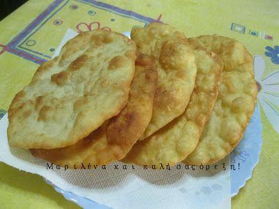 Μαριλένα........και καλή σας όρεξη!: Πίτες στο τηγάνι... τηγανόπιτες εύκολες, νόστιμες ...