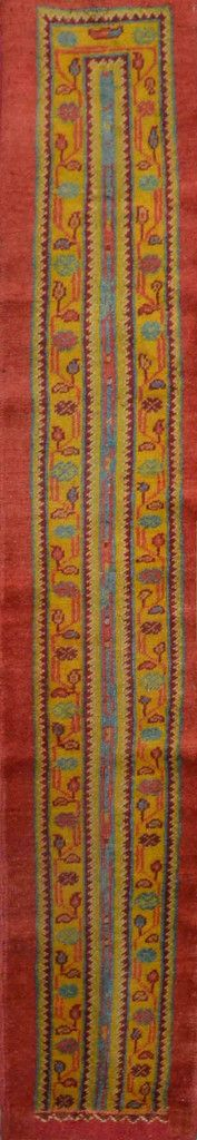 "Carpet Culture - TURKISH OUSHAK RUNNER - 1' - 3"" X 7' - 6""  - CC2092"