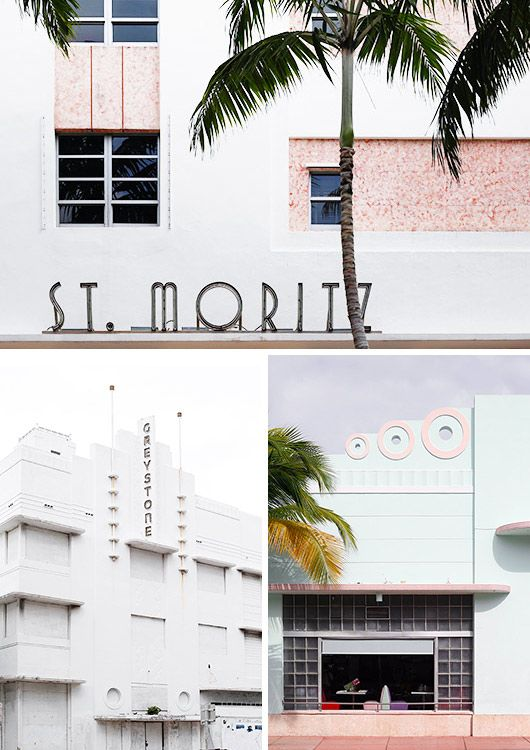 oh so deco. Miami Art Deco District sfgirlbybay