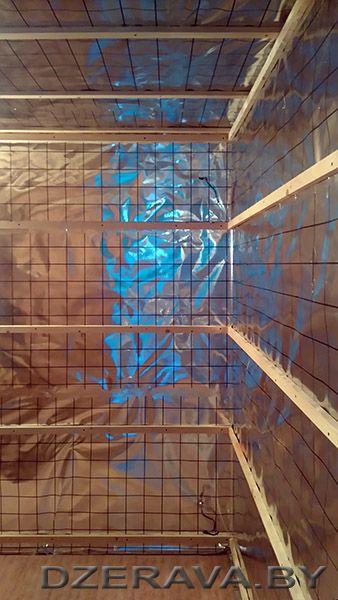 Пароизоляция бани сделать своими руками DIY sauna steam resistance
