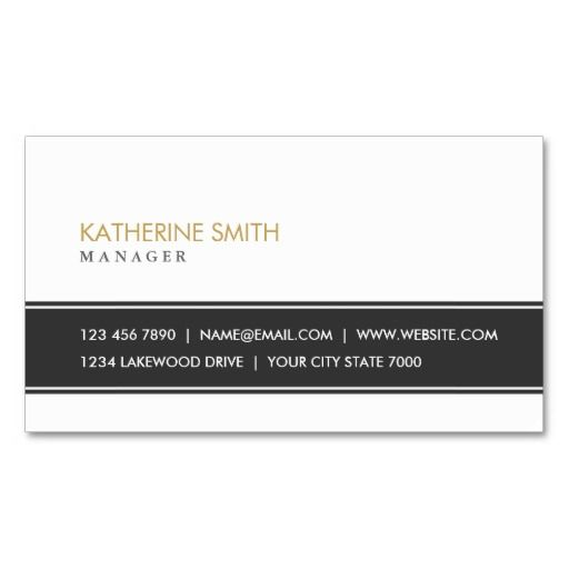 163 best automotive business cards images on pinterest lyrics elegant professional plain simple black and white business card reheart Image collections