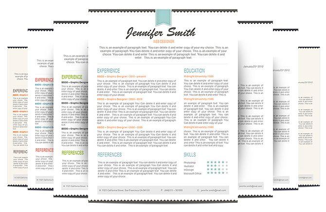 resume pack premium line of resume cover letter