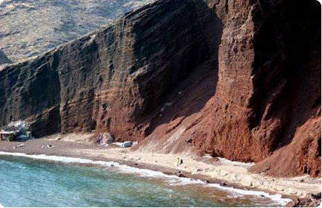 #santorini #beaches