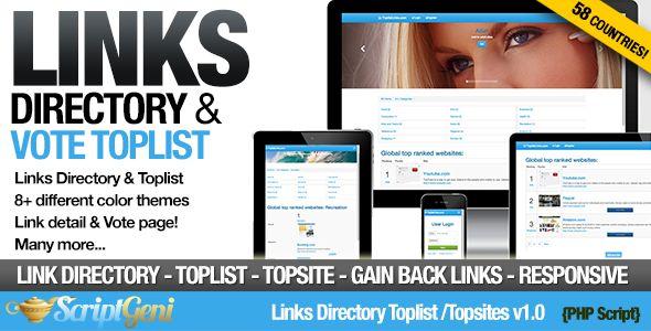 Links Directory Toplist