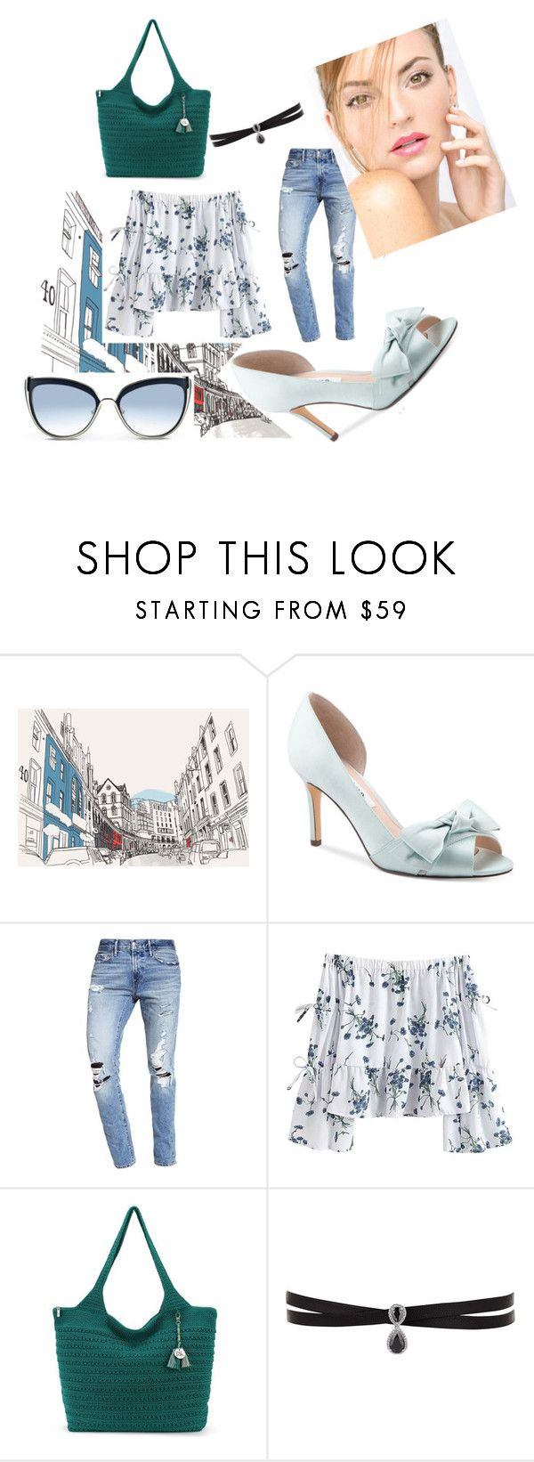 """""""Style"""" by beereem ❤ liked on Polyvore featuring Nina, Abercrombie & Fitch, Fallon, Karl Lagerfeld, chic and women"""